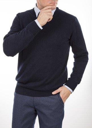 Sweter męski LB - granatowy